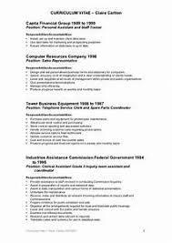 Clerical Assistant Resume New Clerical Resume Examples