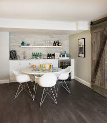 modern basement bar. Modern Basement With Bar Homework Room Media S
