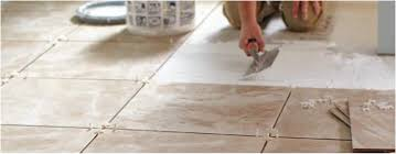 can you paint vinyl flooring in a bathroom unique how to grout tile floors at the