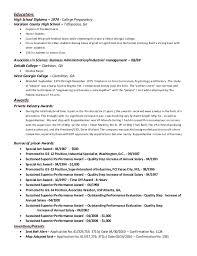 Training Resume | Cover Letter