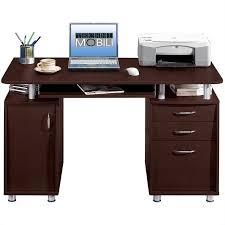 Techni Mobili Chocolate Computer Desk