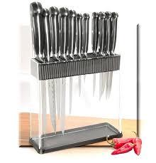 kitchen knife storage unique display case