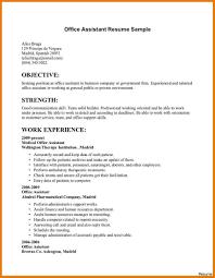 Office Assistant Job Description For Resume Awesome Office Assistant Resumes Resume Objective Engrossing Rare 25
