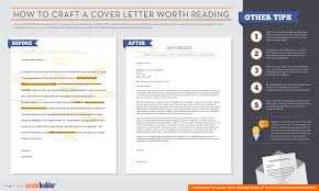 how to write cover letter and resumes infographic how to craft a cover letter worth reading careerbuilder
