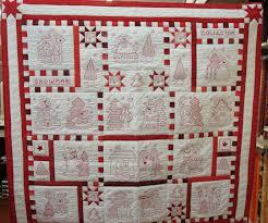 redwork quilts   Redwork Snowman Quilt Patterns   Sashing ideas ... & redwork quilts   Redwork Snowman Quilt Patterns Adamdwight.com