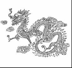 Small Picture remarkable chinese dragon coloring page with chinese dragon
