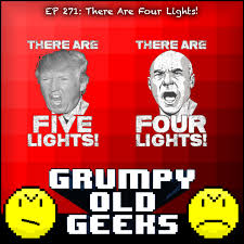 There Are Four Lights 271 There Are Four Lights From Grumpy Old Geeks Podbay