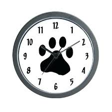 wall clock for office. Innovative Wall Clocks Clock Printing Decorate Your Home Or Office With One Of Our Paw For