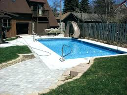 in ground pools with slides.  Ground Water Slide For Inground Pool Custom Slides Pools Swimming  Round   With In Ground Pools Slides S