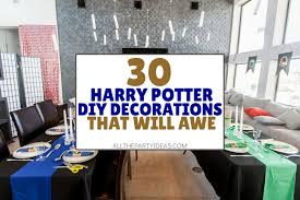 30 diy harry potter party supplies