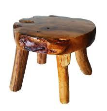 teak round 4 leg coffee table