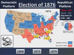 election of 1876 end of reconstruction ppt video online download