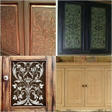 diy kitchen cabinets doors cabinet door makeovers and painting ideas with furniture stencils from royal design