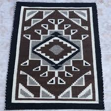 Navajo rug designs two grey hills Native American Image Charleys Navajo Rugs Two Grey Hills Navajo Rug Circa 1970s Rose Benally Etsy