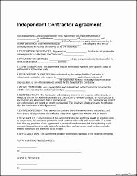 Hair Salon Independent Contractor Agreement Beautiful Management ...