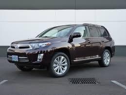 2012 Toyota Highlander Hybrid - Information and photos - ZombieDrive