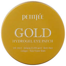 Petitfee Гидрогелевые <b>патчи для век</b> Gold Hydrogel Eye Patch ...