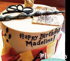 Harry Potter Birthday Cake Mandolis