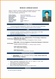 4 Job Cv Format Download Model Resumed