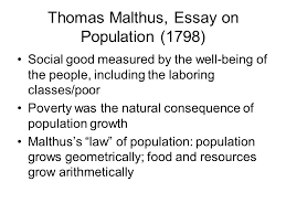 hist population theory malthus marx and boserup ppt  3 thomas malthus essay