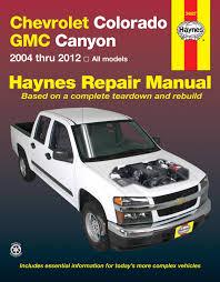 chevrolet colorado gmc canyon 04 12 haynes repair manual enlarge chevrolet colorado