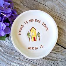 Kitchen Gift For Mom Where Your Mom Is Etsy
