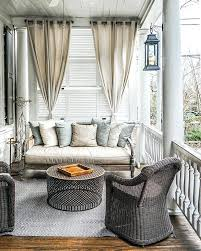 screen porch curtains southern serenity the perfect nook some serious porch goals at the front porch