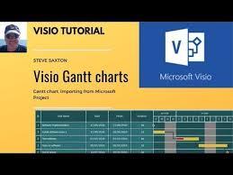 Microsoft Visio Gantt Charts And Importing Data From