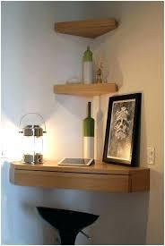 floating shelves for player corner shelf ideas wall glass unique corn