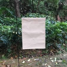 2019 linen garden flag sublimation blanks polyester burlap garden banner decorative yard flag for embroidery and sublimation 12x16 inches from