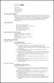 Free Entry Level Accounting Finance Resume Templates Resumenow