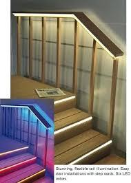 led deck rail lights. Led Deck Rail Lighting As Step And Under Lights