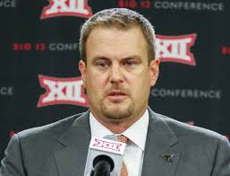 College Sports Mosley S Big 12 Media Days Thoughts Tom Herman