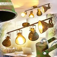 Decken Grün Strahler Flur Lampen Rostfarben Leuchten Zimmer