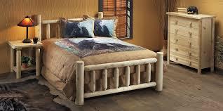 rustic bedroom furniture sets. Brilliant Furniture Amazoncom Rustic Natural Cedar Furniture 100038A  Handcrafted Bed Kitchen U0026 Dining Inside Bedroom Sets A