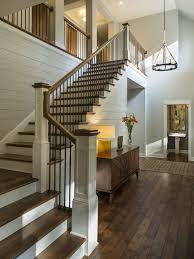 Inspiration for a transitional wooden l-shaped staircase remodel in  Minneapolis