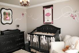 pink nursery furniture. Baby Girl Rooms Pink And Grey Nursery Ideas Black Furniture Home Design Staggering Boy E