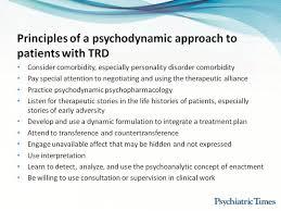 Psychodynamic Approach Treatment Resistant Mood Disorders A Psychodynamic Approach