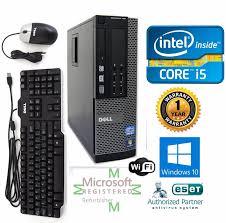 dell 790 desktop computer intel core i5 windows 10 hp 64 120gb ssd 3 10ghz 8gb