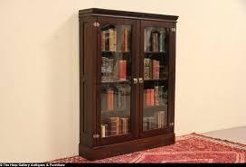 oak 1900 antique bookcase or display