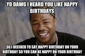 happy birthday meme - Free Large Images via Relatably.com