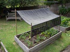 garden shade cloth. A Step-by-step Guide For Making Shade Cover Fitted Garden Bed Cloth