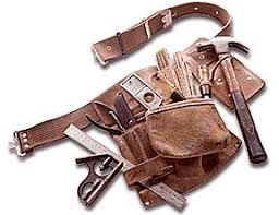 kids leather tool belt. kids leather tool belt