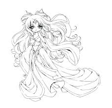 Coloring Pages Coloring Pages Chibi Coloring Pages Easy