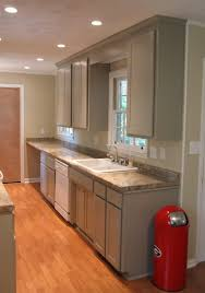 recessed lighting design galley kitchen spacing awesome for