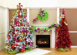 Delightful Multi Colored Christmas Tree Decorating Ideas Part - 12: You Can  Even Pair A