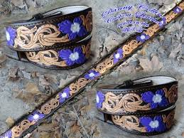 Hand tooled <b>western floral</b> belt. <b>Carved</b> leather belt, <b>western floral</b> ...