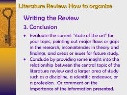 How to write a literature review conclusion   Saidel Group