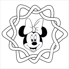 Mickey Mouse Coloring Pages Pdf Mouse Coloring Pages Mini Mouse