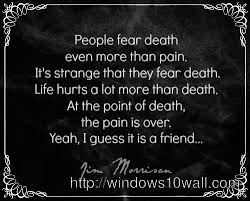Inspirational Death Quotes